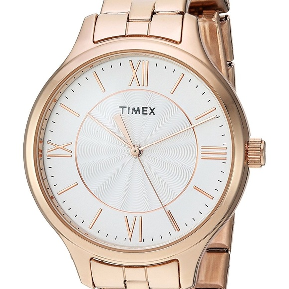 new styles 500bb 605d7 Timex Women s Rose Gold Watch